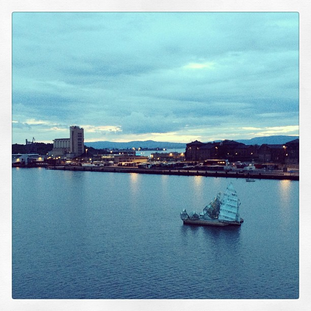 View from the opera #oslo