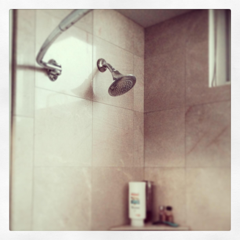 Une douche américaines