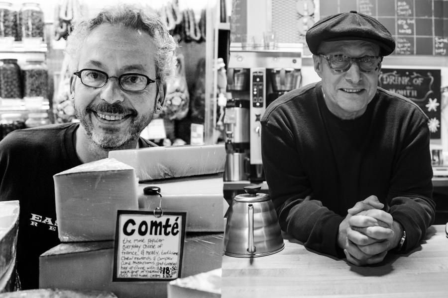 Ari et Paul, fondateur de Zingerman's